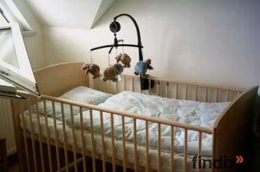 Gitterbett 70x140 + Matratze + Bettzeug + Bettwäsche
