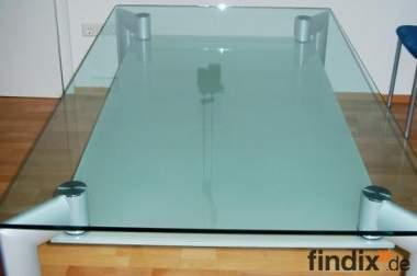 Glas- Esstisch von Völker Design