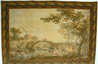 Gobelin Bildteppich Wäscherinnen 180x126 (G039)