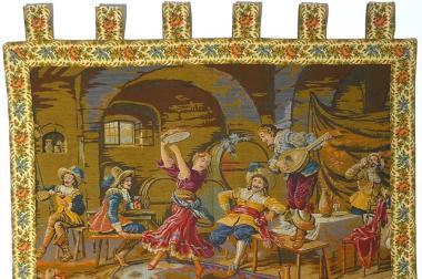 Gobelin Bildteppich Weinkeller (G032)