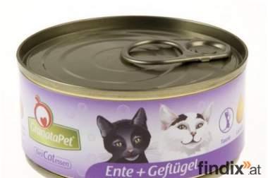 GranataPet Cat Nassfutter - Ente & Geflügel 6 x 200g getreidefrei