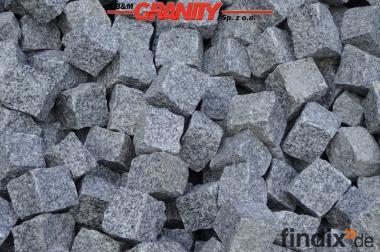 Granit-Pflastersteine & andere Erzeugnisse aus Granit & Naturstei