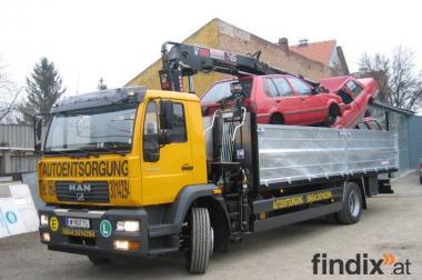 gratis  AUTOENTSORGUNG + Autoankauf 0664 301 42 94
