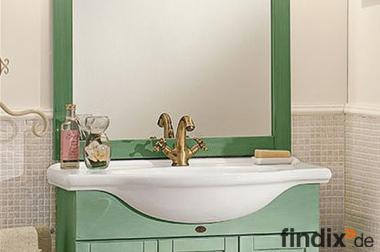 Grüner Badschrank 85 cm Breit