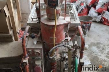 Grundwasserabsenkung im Vakuumverfahren, Maschinenputz, Gerüstarb