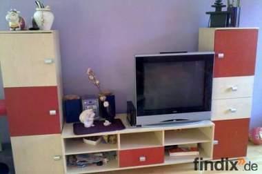 günstige, moderne Wohnwand / Wohnzimmerschrank / Jugendzimmer