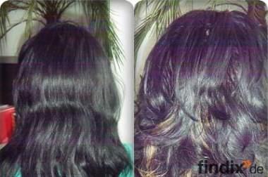 Haarverlängerung /Haarverdichtung mit Ultraschall-Technik