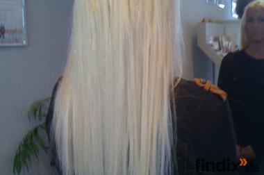 Haarverlängerung & Haarverdichtung 50cm