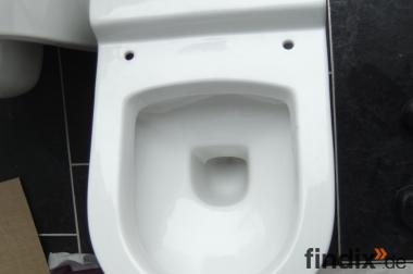 Hänge WC in weiß - neu