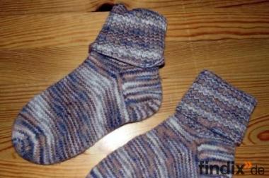 Handgestrickte Socken Gr. ca.32