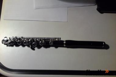 Hans Reiner Piccolo Flöte,Holz,absolute Rarität