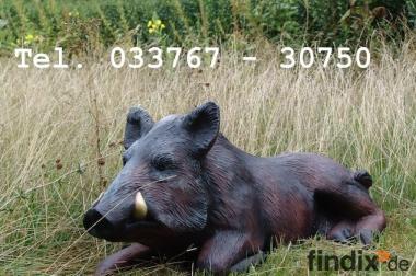 Hasste Lust auf ein Deko Wildschwein ?