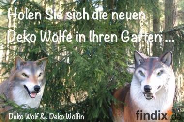 Hasste Lust auf Deko Wölfe ?
