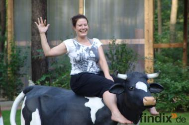 Hasste Lust auf ne Deko Kuh zum aufsitzen bis 100kg ?