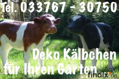 Hasste Lust zwei Deko Kälbchen für Deinen Garten ...