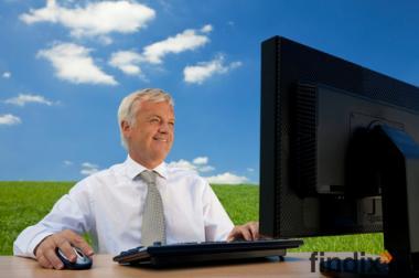Heimarbeit am PC