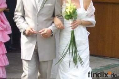Hochzeitsanzug von Wivorst komplett Gr. 48