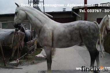 Hol Dir den Apfelschimmel Deko Horse in deinen Garten ...