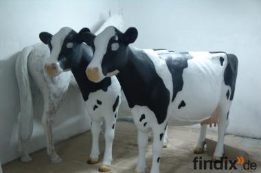 Holstein Deko Kuh lebensgross ...