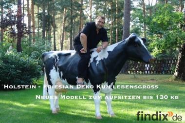 Holstein - Friesian Deko Kuh lebensgross