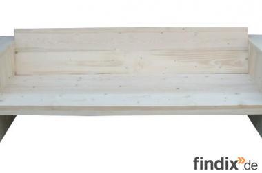Holzsofa, Gartenmöbel, Buholz