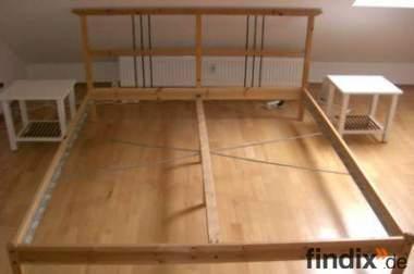 ikea bett dalselv 180x200 209023. Black Bedroom Furniture Sets. Home Design Ideas