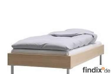 ikea lilehammer bett inkl lattenrost selbstabholer 4300. Black Bedroom Furniture Sets. Home Design Ideas