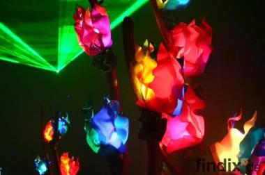 Illumination Art für Ihre leuchtende Blüten Hochzeit