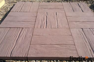 imitation Holz - beton produkt