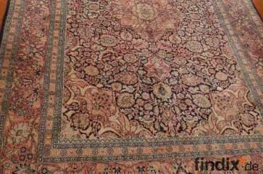 Ind. Seidenteppich Kashmir 2,75x1,84m Orientteppich