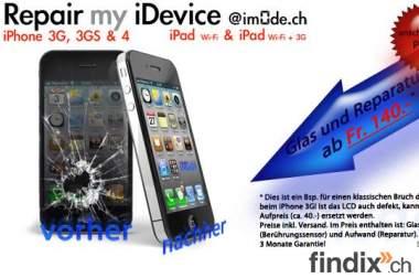 iPhone Reparaturen Ostschweiz