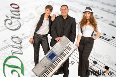Italienische Musikband Live Musik für ihre feste