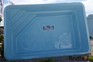 J. GFK schwimmbecken GFK Pool Gartenpool Einbaubecken Kleo5,00