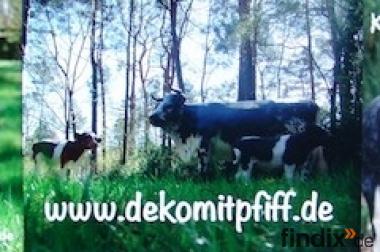 Ja warum net Deko Kuh mit Deko Kälbchen...