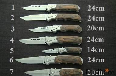 Jagdmesser. Taschenmesser. Einhand Messer.