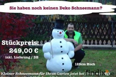 Jetzt schon an Weihnachten Dekoen … z.b. Deko Schneemann