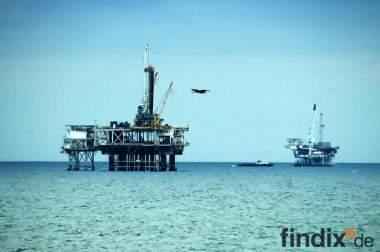 Job f. Ölbohrinsel / Gasförderanlagen Nrodsee und Weltweit