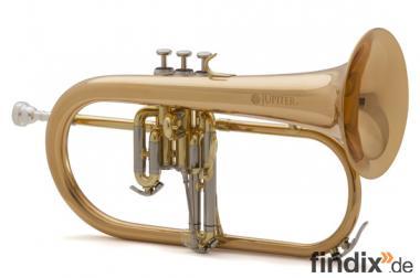 Jupiter JFH 1100 R Goldmessing Flügelhorn, Neuheit im Luxuskoffer