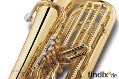 Jupiter Tuba, 4 Ventile, Modell JP-482 L in B - Neuware + Koffer