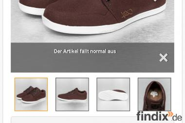 K1X lp low Sneaker dark brown Grösse 45 Nagelneu!