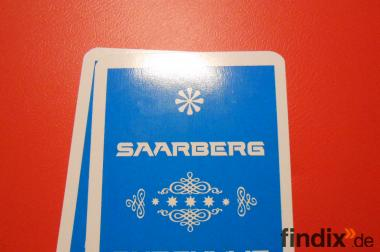 Kartenspiel mit 32 Karten und mit Motiven von Saarberg