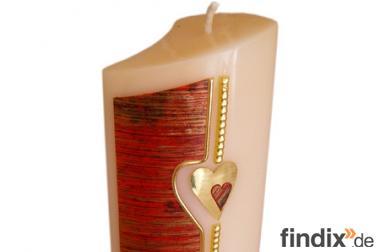 Kerzen Arrangementform - Verlobung & Hochzeit