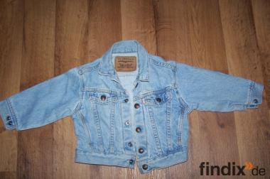 Kinder Levis Jeans Jacke von Strauss 92/98