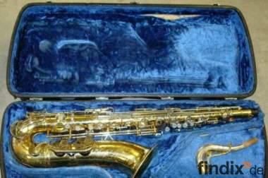 King Super 20 Tenor Saxophon mit Sterlingsilber-Neck Top