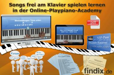 Klavier lernen in der Online-Playpiano-Academy