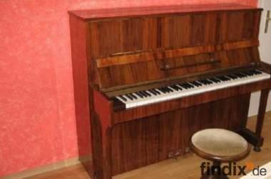 Klavier zu verkaufen, Sangler 120k, nußbaum poliert,schöner Klang