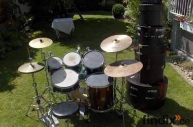 Komplettes Sonor Drumset (genialer Sound)