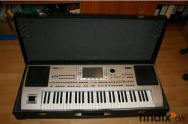 Korg PA80 HD + Case + 16MB MR3 Card + 8MB Card + Styls...........