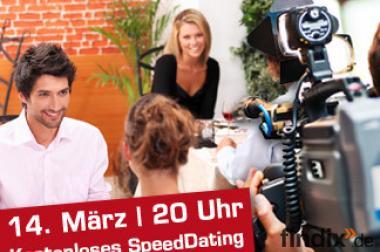 Kostenloses SpeedDating in Berlin + 50,- Gage!