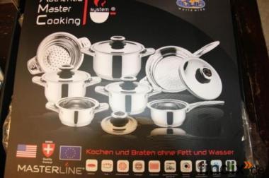 Küchentöpfe neu von AMC Master Line